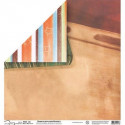 Бумага для скрапбукинга 190 г/м2, 30.5x30.5 см, Школа, Mr.Painter