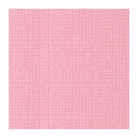 Сладкая вата (св.розовый), бумага для скрапбукинга(кардсток) 216г/м2, 30.5x30.5 см, Mr.Painter