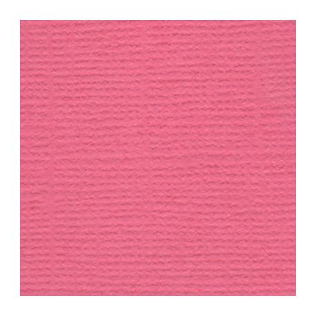 Розовый фламинго (ярко-розовый), бумага для скрапбукинга(кардсток) 216г/м2, 30.5x30.5 см, Mr.Painter