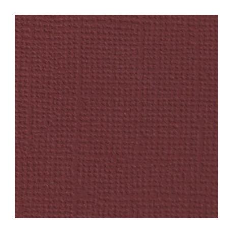Бургундское вино (бордовый), бумага для скрапбукинга(кардсток) 216г/м2, 30.5x30.5 см, Mr.Painter