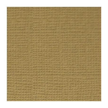 Грецкий орех (св.коричневый), бумага для скрапбукинга(кардсток) 216г/м2, 30.5x30.5 см, Mr.Painter