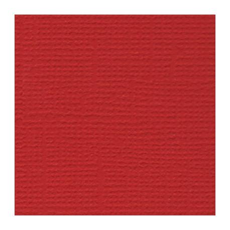 Алые паруса (т.красный), бумага для скрапбукинга(кардсток) 216г/м2, 30.5x30.5 см, Mr.Painter