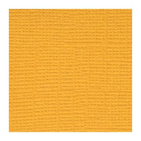 Золотая осень (жёлто-оранжевый), бумага для скрапбукинга(кардсток) 216г/м2, 30.5x30.5 см, Mr.Painter