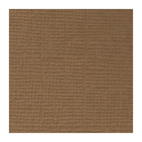 Кофе с молоком (коричневый), бумага для скрапбукинга(кардсток) 216г/м2, 30.5x30.5 см, Mr.Painter
