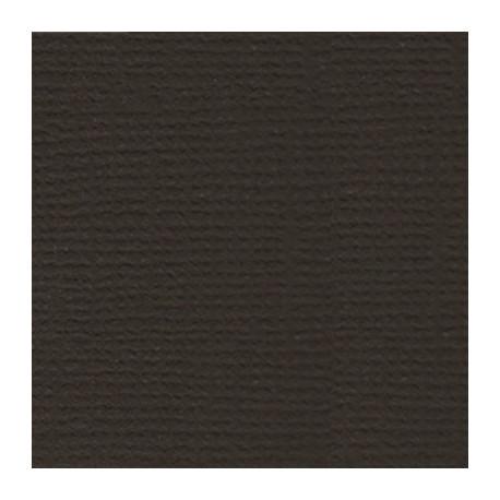 Горький шоколад (т.коричневый), бумага для скрапбукинга(кардсток) 216г/м2, 30.5x30.5 см, Mr.Painter