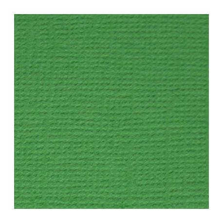 Лесной папоротник (т.зелёный), бумага для скрапбукинга(кардсток) 30.5x30.5 см, Mr.Painter