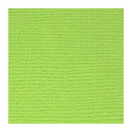Зелёное яблоко (ярко-зелёный), бумага для скрапбукинга(кардсток) 216г/м2, 30.5x30.5 см, Mr.Painter
