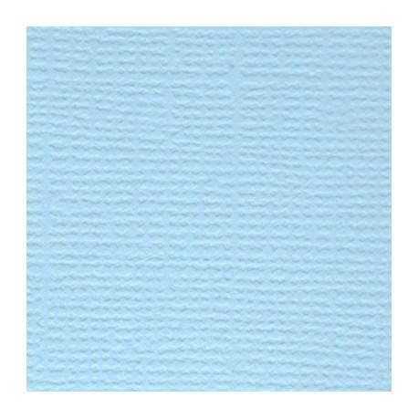 Летнее небо (св.голубой), бумага для скрапбукинга(кардсток) 216г/м2, 30.5x30.5 см, Mr.Painter