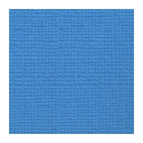 Морская пучина (лазурный), бумага для скрапбукинга(кардсток) 216г/м2, 30.5x30.5 см, Mr.Painter