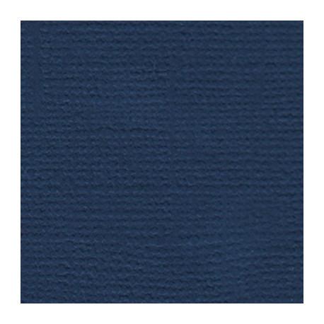 Южная ночь (т.синий), бумага для скрапбукинга(кардсток) 216г/м2, 30.5x30.5 см, Mr.Painter