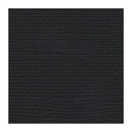 Вороной конь (чёрный), бумага для скрапбукинга(кардсток) 216г/м2, 30.5x30.5 см, Mr.Painter
