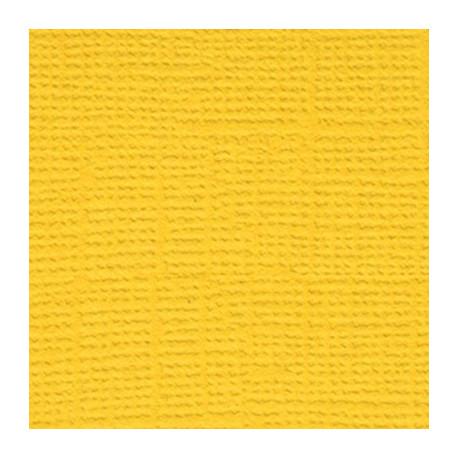 Кукурузный початок (ярко-жёлтый), бумага для скрапбукинга(кардсток) 216г/м, 30.5x30.5 см, Mr.Painter