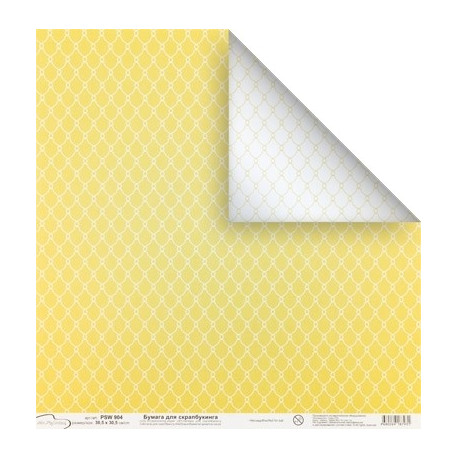 Сетка, бумага для скрапбукинга 190 г/м2, 30.5x30.5 см, Mr.Painter