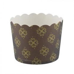 Орнамент, бумажные формы для выпечки d 6см 6шт. Pane-Cake