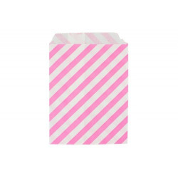 Райе розовые, бумажные пакеты для выпечки, 13х18см, 10 шт
