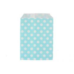 Горох голубые, бумажные пакеты для выпечки, 13х18см, 10 шт