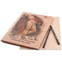 Бумага для эскизов Паллацо А4 21х29,7см 200г/м2 Крафт 20листов