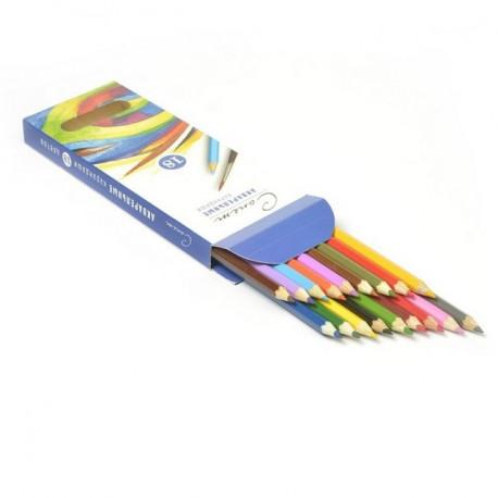 Набор акварельных карандашей 18цветов Сонет