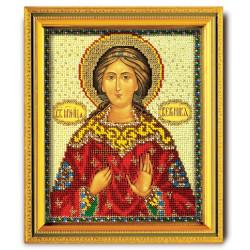 Вероника, набор для вышивания ювелирным бисером 12х14,5см Радуга Бисера