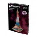 Эйфелева башня, пазл 3D, пенополистирол, 23x20.5x47см 35 элементов. Rezark