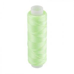 Салатовый, люминисцентные нитки(светящиеся в темноте) для вышивания, 100%полиэстер, 200ярдов. Gamma