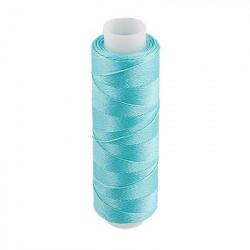 Голубой, люминисцентные нитки(светящиеся в темноте) для вышивания, 100% полиэстер, 200ярдов. Gamma