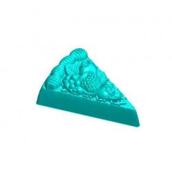 Тортик с ягодами, 3D силиконовая форма для мыла