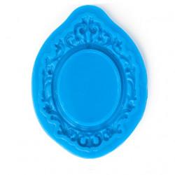 Рама круглая, силиконовый молд 7,5х5,5см