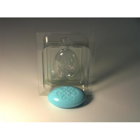 3D Узел долголетия, сторона А (перед) пластиковая форма для мыла МФ