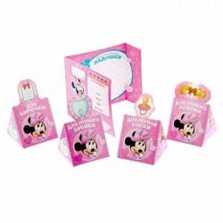 """Набор памятных коробочек + паспорт малышки """"Наша любимая малышка"""", Минни Маус, Дисней беби"""