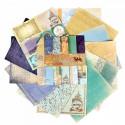 Карта странствий, набор двусторонней бумаги для скрапбукинга 12 листов 29,5 х 29,5 см, Арт Узор