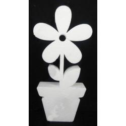 Цветок в горшке, 30*14см. Декор из пенопласта