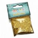 Блестки декоративные 0,1мм цвет золото 20гр Decola