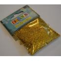 Блестки декоративные 0,3мм цвет золото 20гр Decola