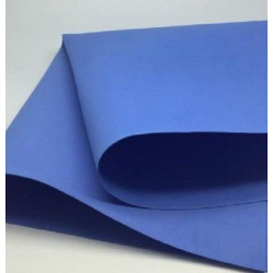Синий, пластичная замша 0.5мм, 50х50 см, Mr. Painter