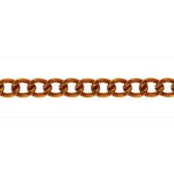 Под медь, цепочка декоративная 2.7x1.7мм 1м железо Micron