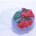 Гроздья рябины, пластиковая форма для мыла XD