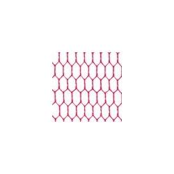 Розовый барби, фатин 26±2 г/кв.м, 50х50см, 100% полиэстер