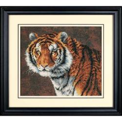 Тигр, набор для вышивания крестиком, 36х30см, Dimensions