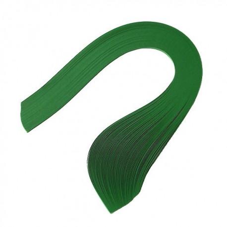 Т.зеленый, цвет №31, бумага для квиллинга 3мм, 100 полос, Mr.Painter