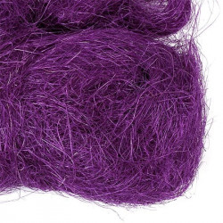 Фиолетовый, сизалевое волокно 20гр. Blumentag