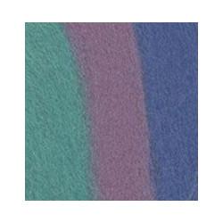 Розовый/св.голубой/бирюзовый, шерсть для валяния, 100% мериносовая шерсть 50г