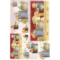 Рапсодия 2, бумага рисовая для декупажа, 32х45 см. Love2Art