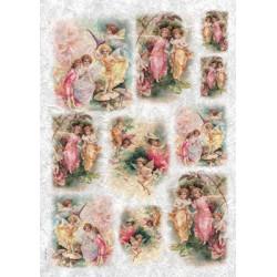 Лесные феи, бумага рисовая для декупажа, 32х45 см. Love2Art