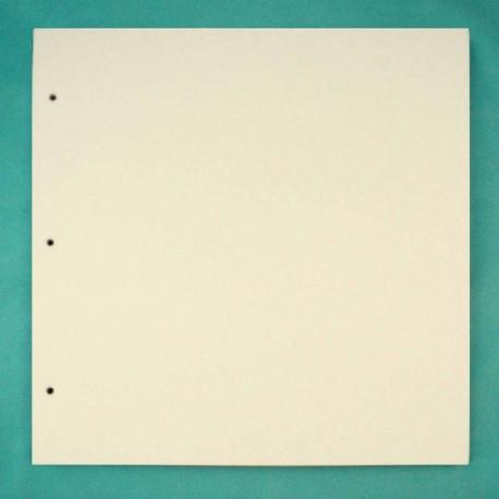 Квадрат большой, заготовка для альбома 30,5х30,5см картон 1,5мм 6листов 3отверстия без колец ЛЗ
