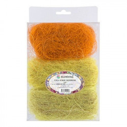 Св.желтый/желтый/оранжевый, сизалевое волокно 30гр. Blumentag