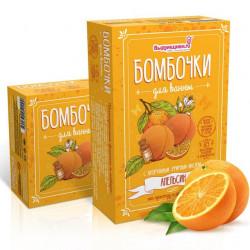 Апельсин, набор для изготовления бомбочек для ванны