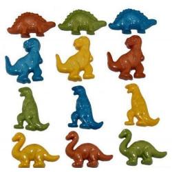 Динозавры,  набор пуговиц 10шт  Dress It Up