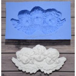 Три ангела 7х3,5см, молд силиконовый универсальный АП
