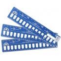 Планшет-линейка для мулине 15отверстий картон, 3шт DMC